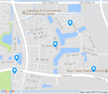 map of Keys Gate apartments for rent