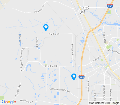 map of Cisco Gardens apartments for rent