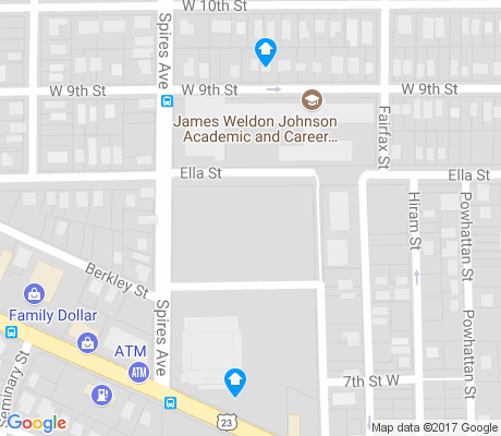 map of College Gardens apartments for rent