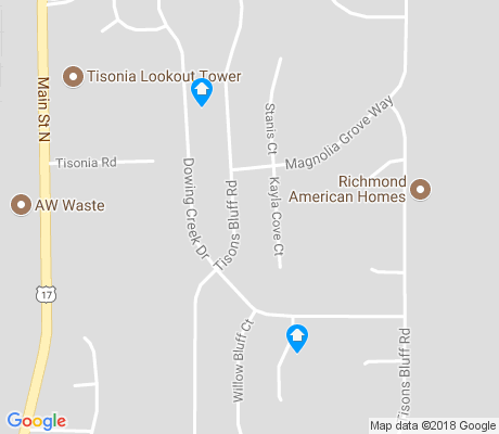 map of Eagle Bend apartments for rent