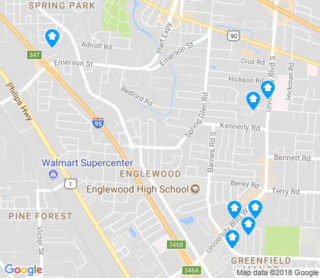 map of Englewood apartments for rent