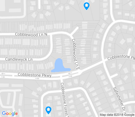 map of Fort Caroline Shores apartments for rent
