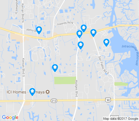 map of Golden Glades-The Woods apartments for rent