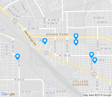 map of Grand Park apartments for rent