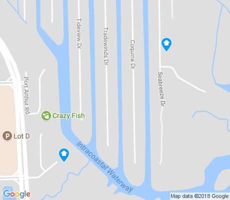 map of Isle of Palms apartments for rent