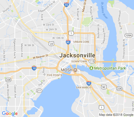 map of LaVilla apartments for rent
