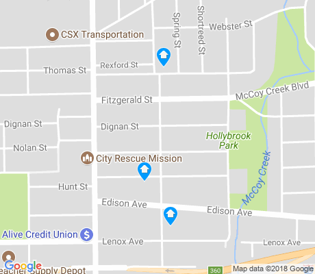 map of Lackawanna apartments for rent