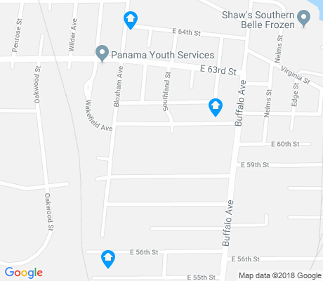 map of Panama Park apartments for rent