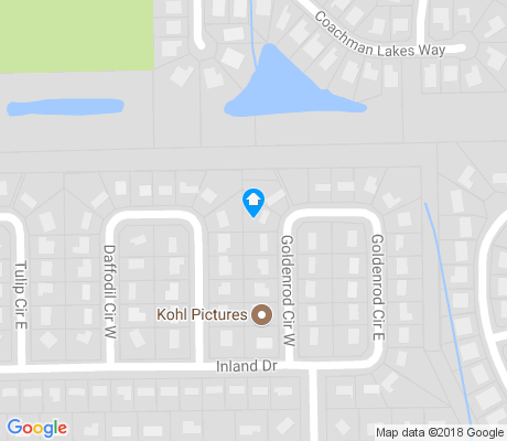 map of Park Ridge apartments for rent