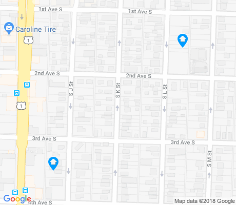 map of Downtown Jewel apartments for rent