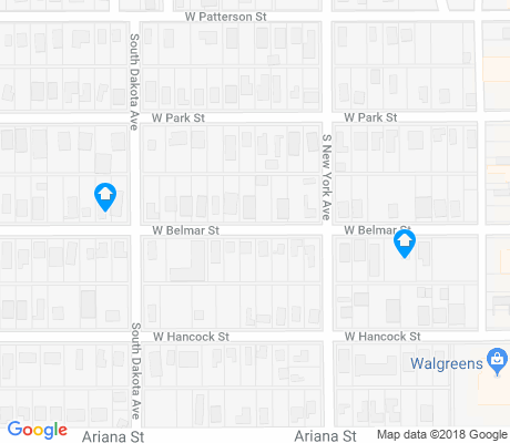 map of Dixieland apartments for rent