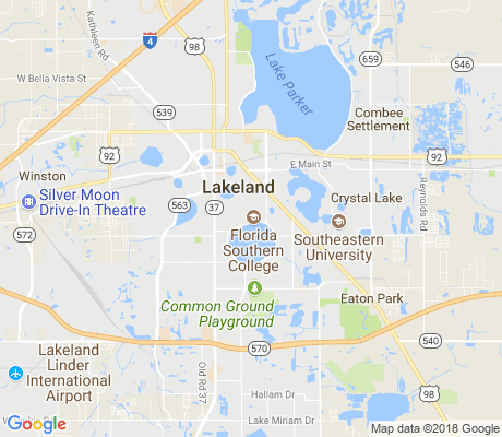Florida Southern College Map.Florida Southern College Area Lakeland Apartments For Rent And