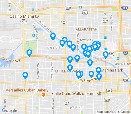 map of 33125 apartments for rent
