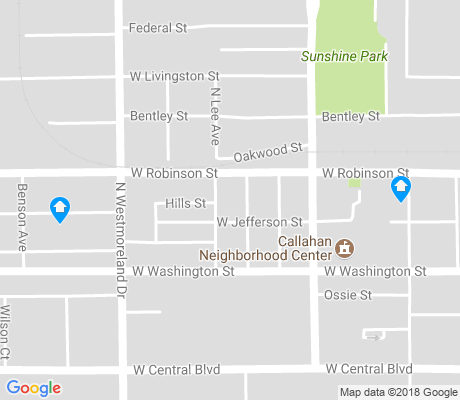 map of Callahan apartments for rent