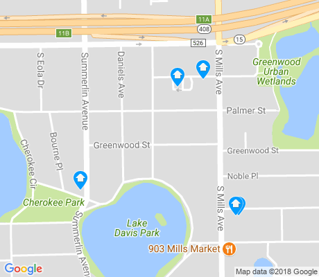 map of Lake Davis-Greenwood apartments for rent