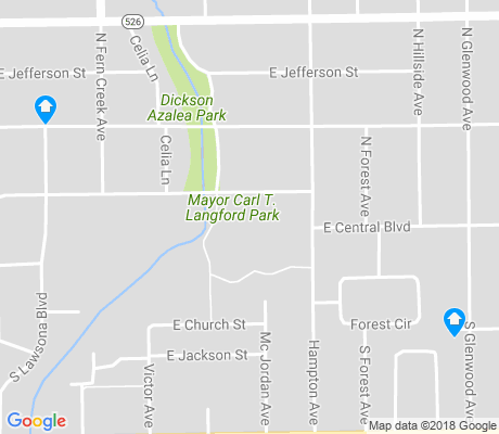 map of Lawsona- Fern Creek apartments for rent