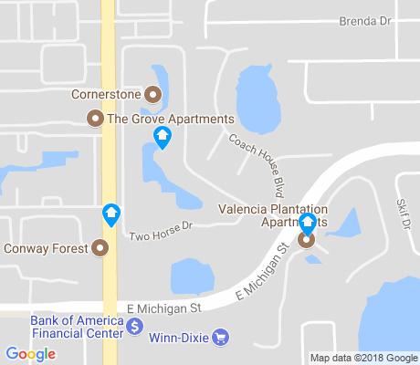 map of Mariner's VIllage apartments for rent