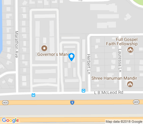 map of Rio Grande Park apartments for rent
