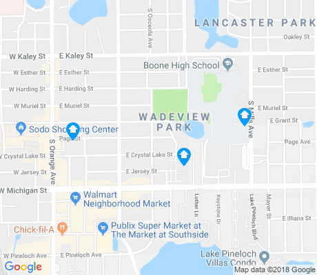 map of Wadeview Park apartments for rent