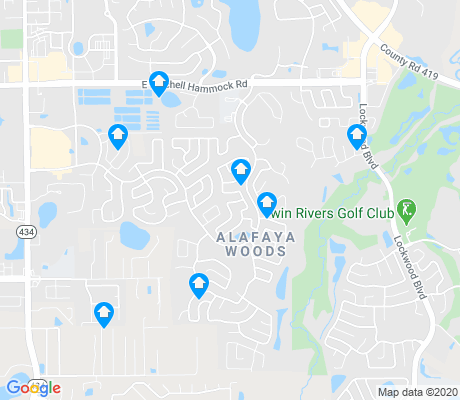 Alafaya Woods Oviedo Apartments for Rent and Rentals Walk Score