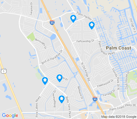 map of Indian Trails apartments for rent