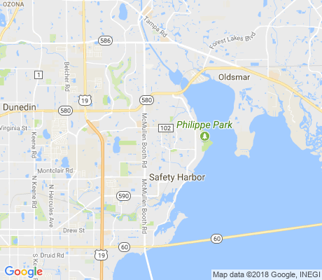 map of Huntington apartments for rent