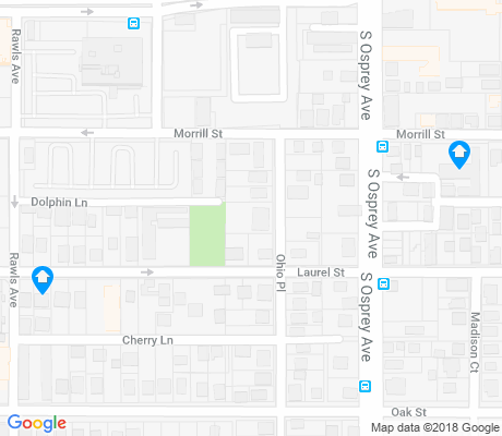 map of Laurel Park apartments for rent