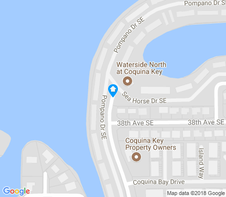 map of Bayou Shores apartments for rent