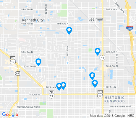 map of Disston Heights apartments for rent