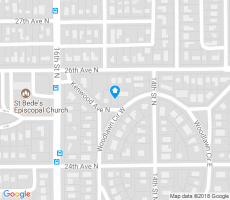 map of Greater Woodlawn apartments for rent