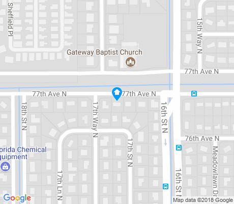 map of Meadowlawn apartments for rent
