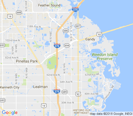 map of Winston Park apartments for rent