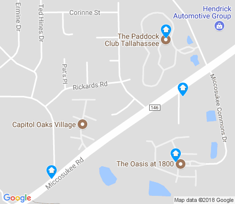 map of Melody Hills apartments for rent