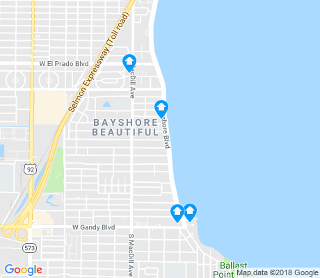 map of Bayshore Beautiful apartments for rent