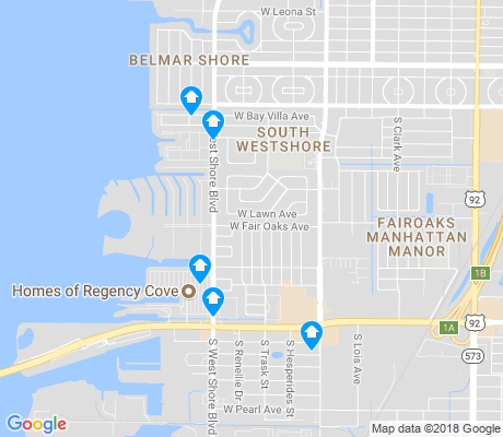 map of Bayside West apartments for rent