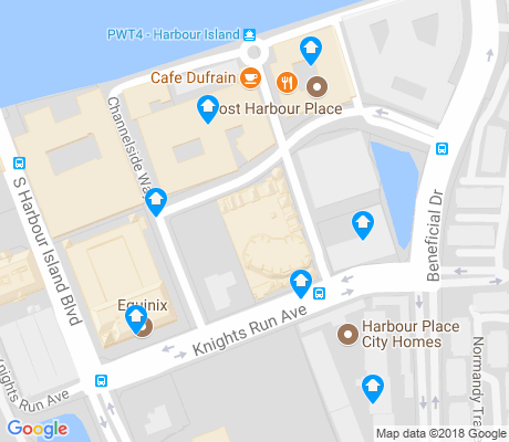 map of Harbour Island apartments for rent