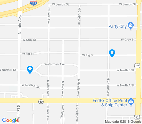 map of North Bon Air apartments for rent