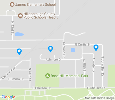 map of Northview Hills apartments for rent