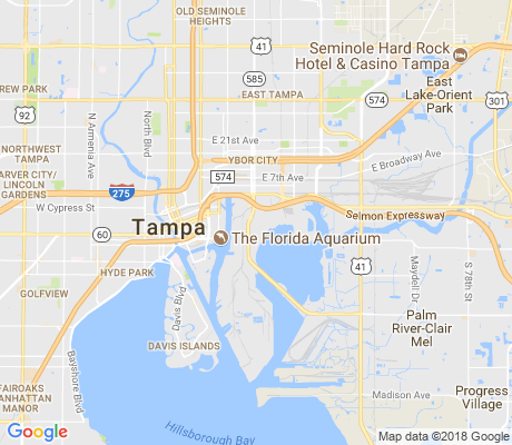 map of Palmetto Beach apartments for rent
