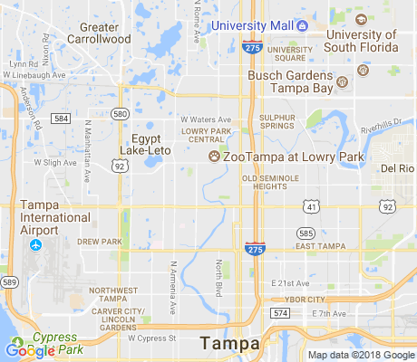 map of Riverbend apartments for rent