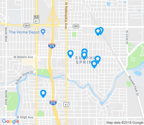 map of Sulphur Springs apartments for rent