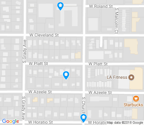 map of Swann Estates apartments for rent