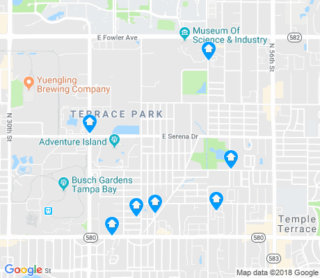 map of Terrace Park apartments for rent