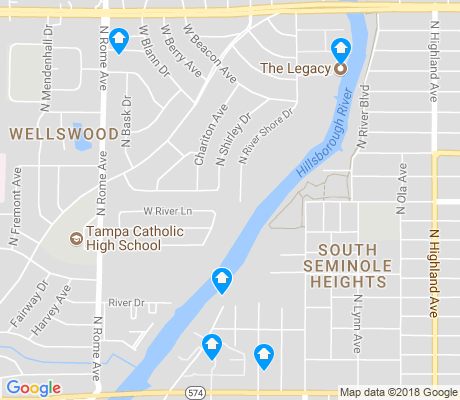 map of Wellswood apartments for rent