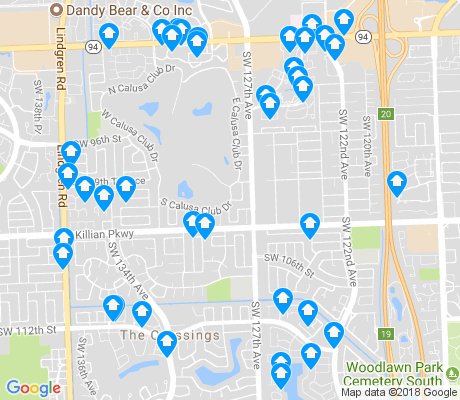 map of The Crossings apartments for rent