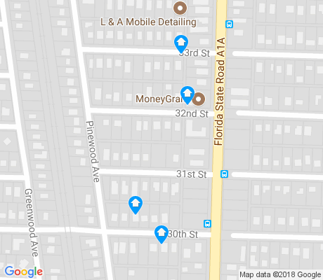 map of Northwood Pines apartments for rent