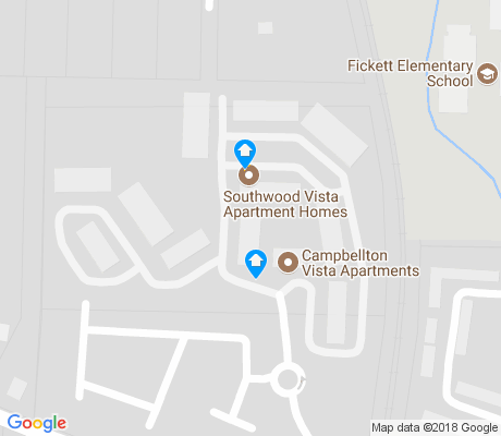 map of Ben Hill Terrace apartments for rent