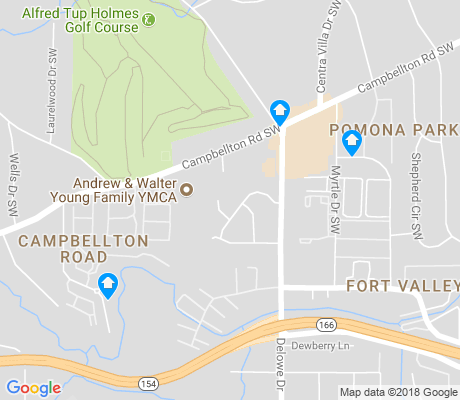 map of Campbellton Road apartments for rent