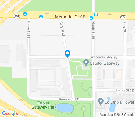map of Capitol Gateway apartments for rent