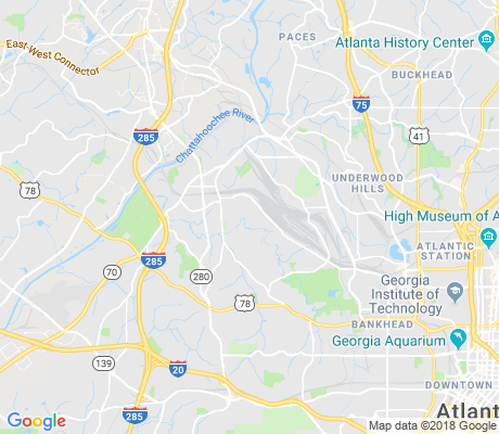 map of Carver Hills apartments for rent